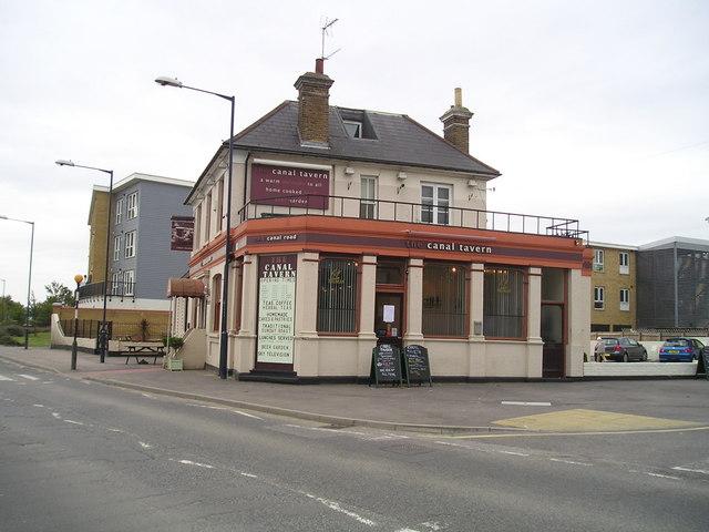 The Canal Tavern Pub, Gravesend