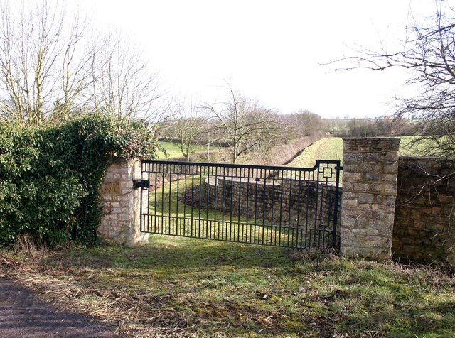 Entrance to Thornton Chase