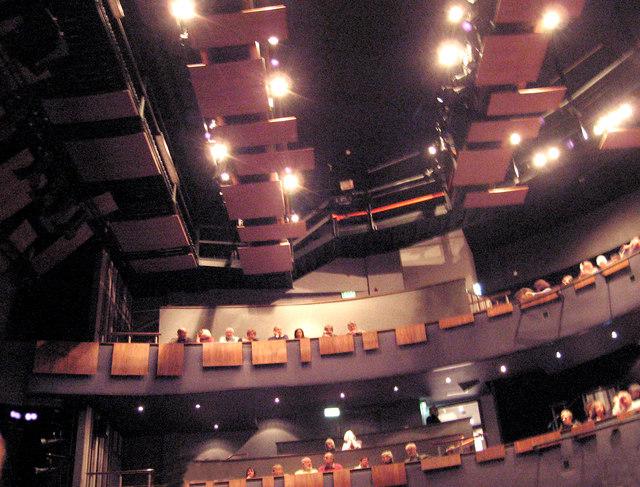 Inside the Theatre Severn, Shrewsbury