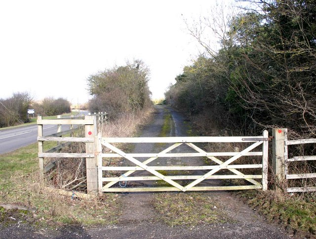 The old route of the A429