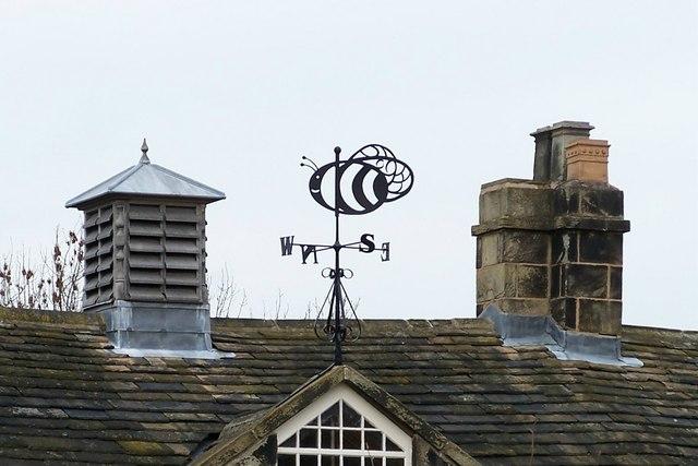 Weather Vane, Wood Lane House, Farm Countryside Centre, Wood Lane, Malin Bridge, Sheffield
