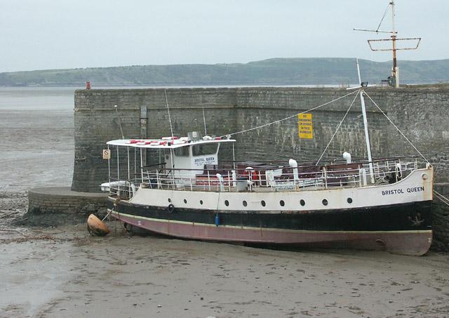 Bristol Queen, tourist boat at Knightstone