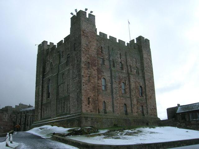 Bamburgh Castle - Keep