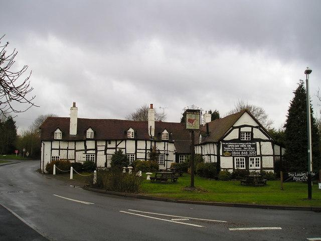 The Bulls Head Pub, Wootton Wawen