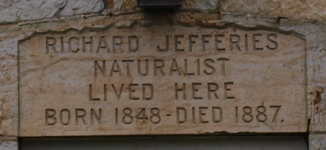 Inscribed Lintel at Richard Jefferies' House