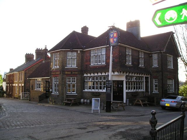 The Kings Arms Pub, Upper Upnor