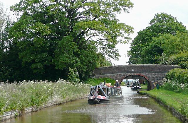 Llangollen Canal near Hurleston Junction, Cheshire