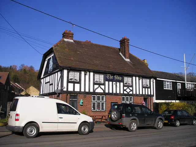 The Ship Pub, Lower Upnor