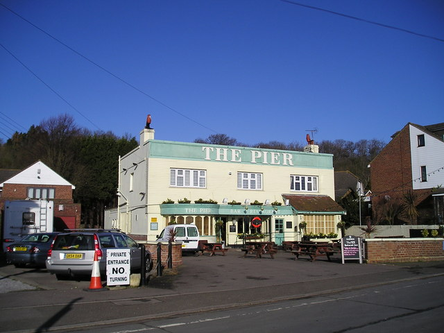 The Pier Hotel Pub, Lower Upnor