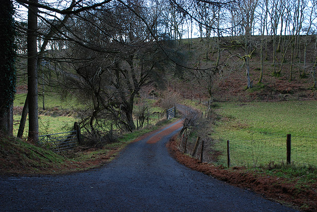 Lane leading to Tre Taliesin