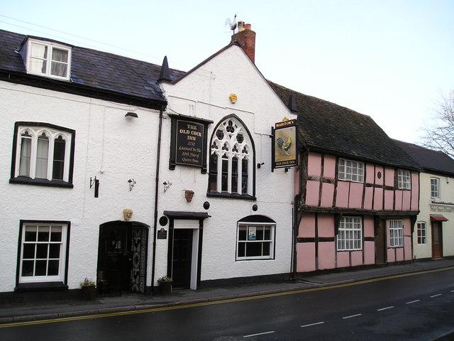 The Old Cock Inn Pub, Droitwich