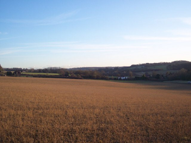 View from the Bonny Bush Lane bridleway