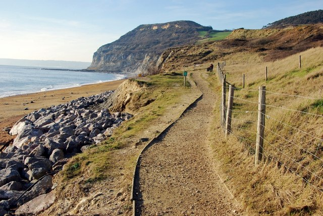 Seatown, Dorset: The Coastal Path