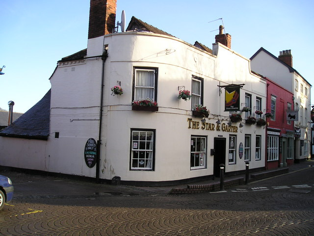 The Star and Garter Pub, Droitwich