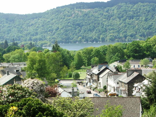 View over Windermere and the Lake