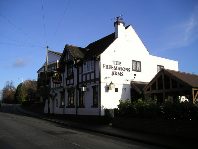 The Freemasons Arms Pub, Droitwich