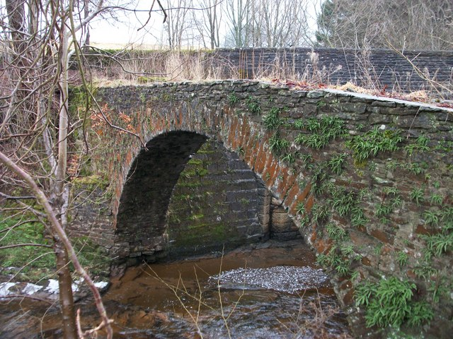 Pack Horse Bridge over River Knaik