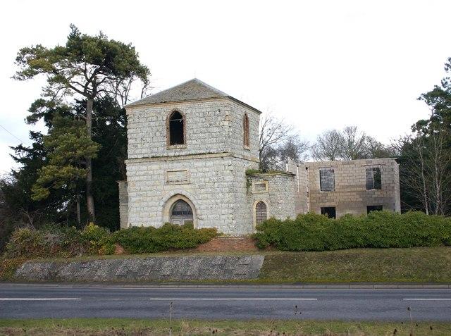 Bell tower near Ettington