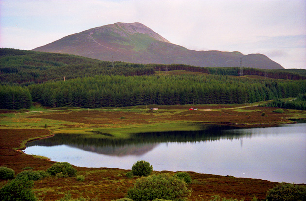 Schiehallion from Loch Kinardochy