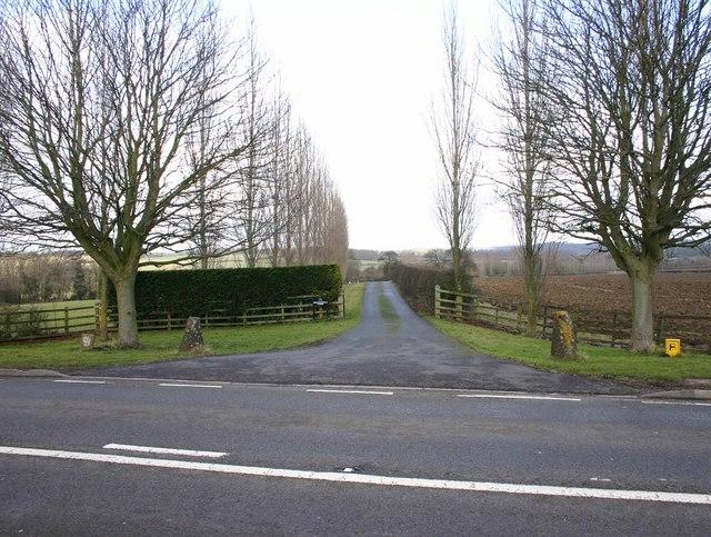 Entrance to Springfield Farm