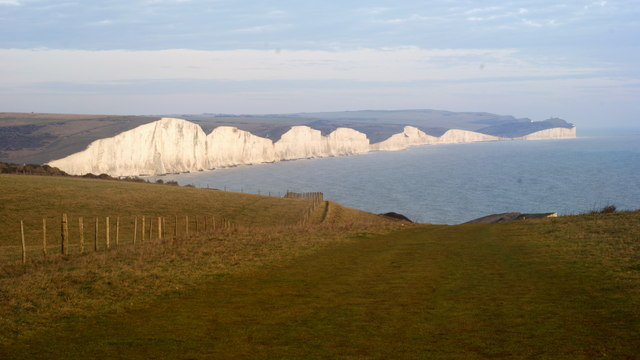 View From Seaford Head, Sussex
