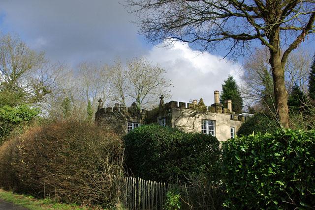Castellated lodge