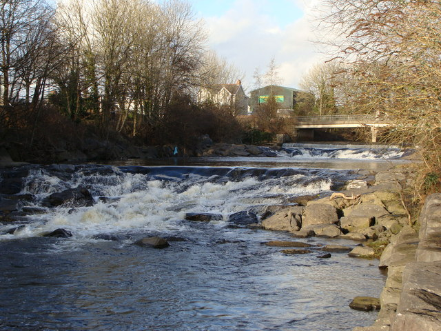 Weirs on the River Aman, Ammanford