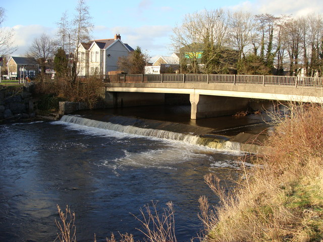 Bridge over the River Aman, Ammanford