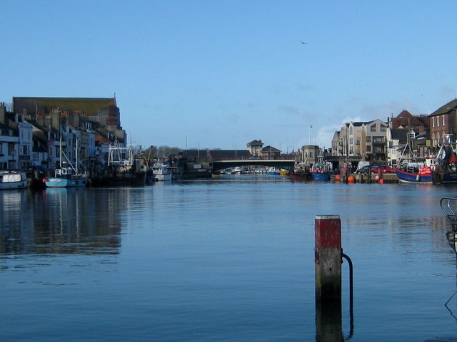 The still waters of Weymouth Harbour