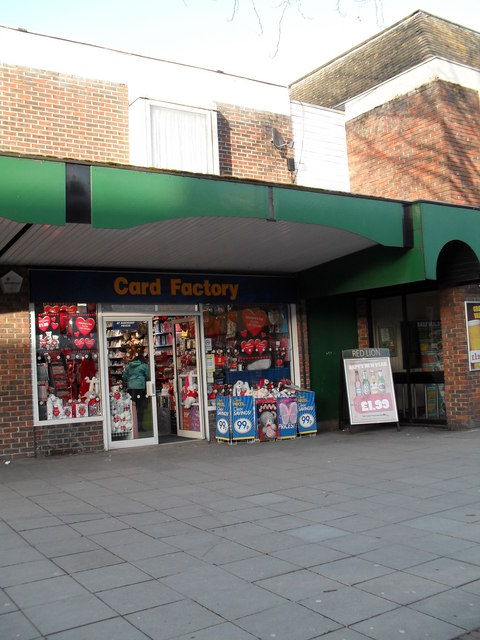 Card Factory in Portchester Precinct