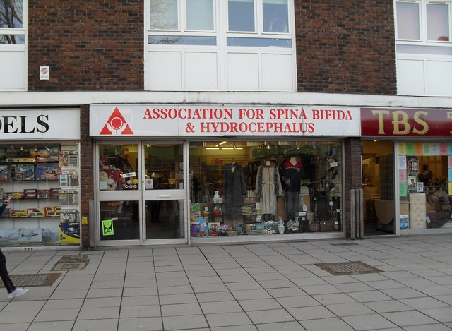 Charity shop in Portchester Precinct (1)