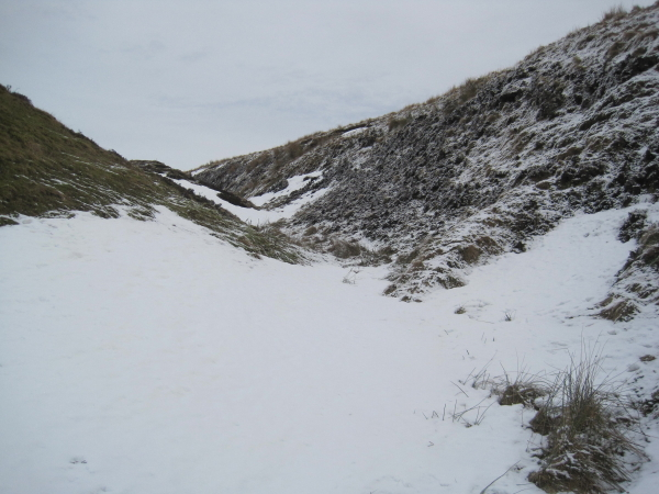 Disused Quarry near Pennine Way