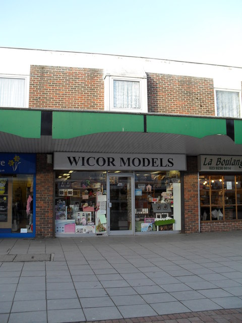 Wicor Models- northern side of The Precinct