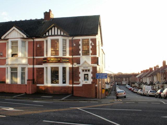Wangler Opticians, Chepstow Road, Newport