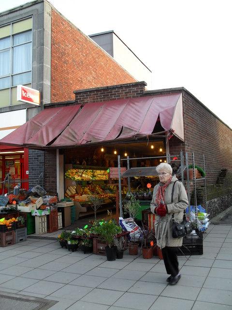 Greengrocers in Portchester Precinct