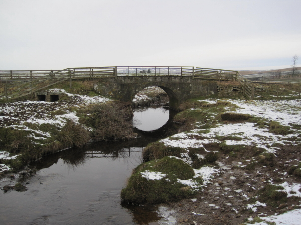 Bridge over the Hareshaw Burn