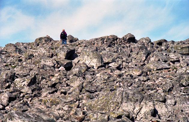 The boulder field on Schiehallion