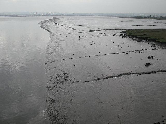 Mudflats off Higgins' Neuk