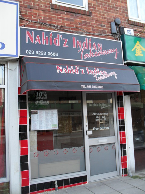 Nahid'z Indian Takeaway in Portchester Precinct