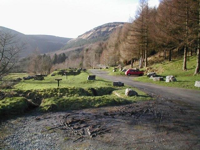 West of Blaencwm