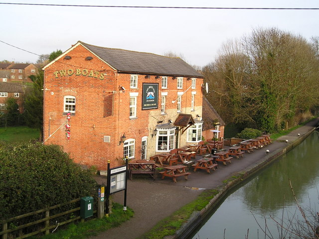 The Two Boats Pub, Long Itchington, Southam