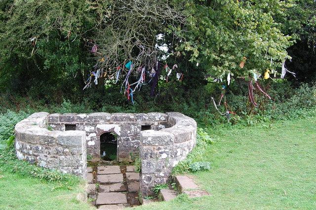 The virtuous Well ,Trellech