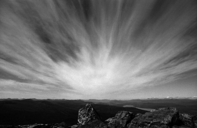 Dramatic cloud formation above Schiehallion