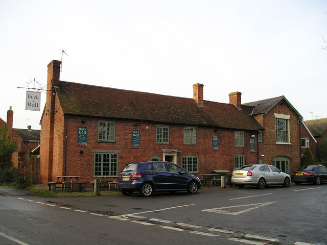 The Buck and Bell Pub, Long Itchington, Southam