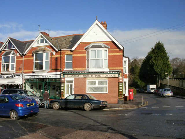 Former Llandaff North post office