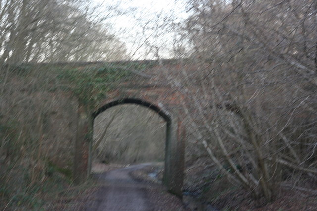 Railway bridge over the Forest Way