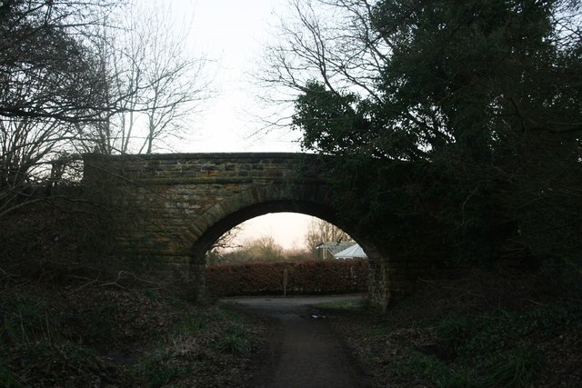 Bridge over Forest Way near Hartfield