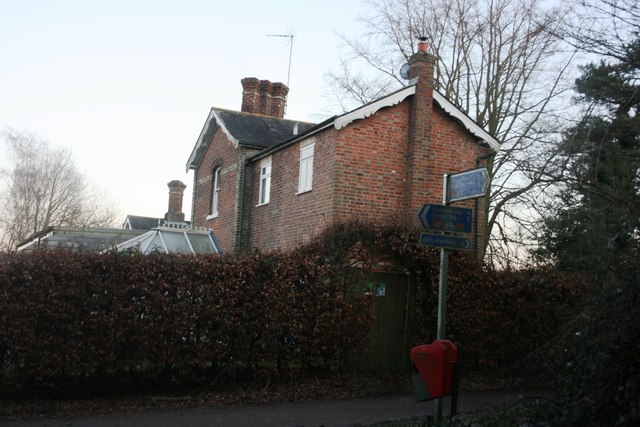 The old Station House, Hartfield Station