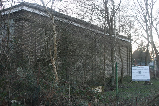 The old goods shed, Hartfield Station