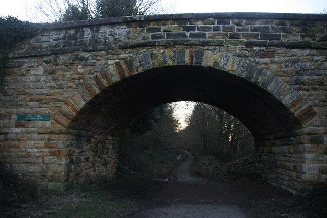 Bridge over Forest Way near Hartfield Station